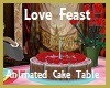 Love Feast Cake Table