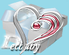 DB Ruby Silver Heart
