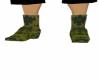 Green Camo Cowboy Boots