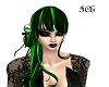 Toxic Green Hair