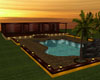 Sunset pool room