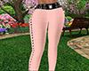Peach Skinny Pants RLL