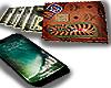iphone X bape wallet