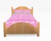 queen of hearts pink bed