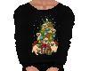 Flat Christmas Pug top