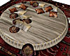 Round Bed Poseless / Rug