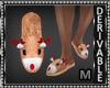Reindeer Slippers M
