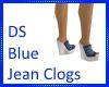 DS Blue Jean Clogs