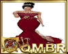 QMBR Gown Ruby Red CK