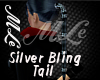 silver bling tail