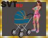 SVT baby carriage animet