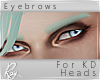Mint Fate Eyebrows