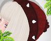 d. beanie red