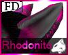 Dark Rhodonite Wolf Ear