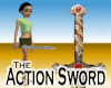 Action Sword -Gold Woman