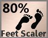 Foot Scaler 80% F