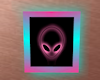 Picture Wall Frame Alien