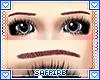 Korean Eyebrows F Maroon