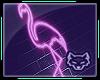 ! Neon Flamingo Sign