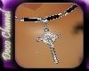 Silver Crucifix Chain M