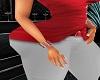 Classy Lady Red Bracelet