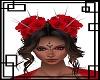 💀 Red Spiky Roses