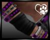 Purple Armbands Male