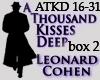 Cohen A Thousand Kisses2