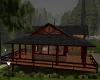 (E) Pine lake cabin