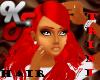 !KF! HAIR-Red Chiyo