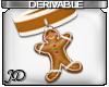 GingerBread Man Choker