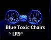 Blue Toxic chairs