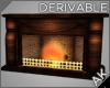 ~AK~ Vintage Fireplace