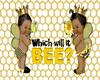 Bee Gender Reveal Sign