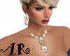 White Pearl Jewelry Set