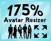 Avatar Scaler 175%