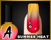 Summer Heat Nails