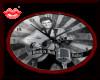Elvis Rug,clock,rock