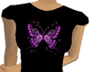 CJ69 Purple ButterflyTee
