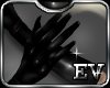 EV LonG Latex Gloves Blk