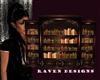Dark Chic Bookcase