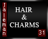 H & 3 Charms Mesh