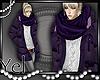 Purple Coat*YEL*