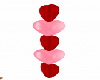 Red & Pink Hearts