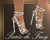 PdT Silver Holiday Heels