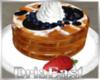 D:  Waffle + Strawberry