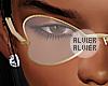 C | Heart Gold Glasses
