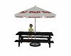 picnic table w umbrella