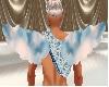 blue clouds wings