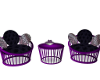 Out Door Chairs-Purple